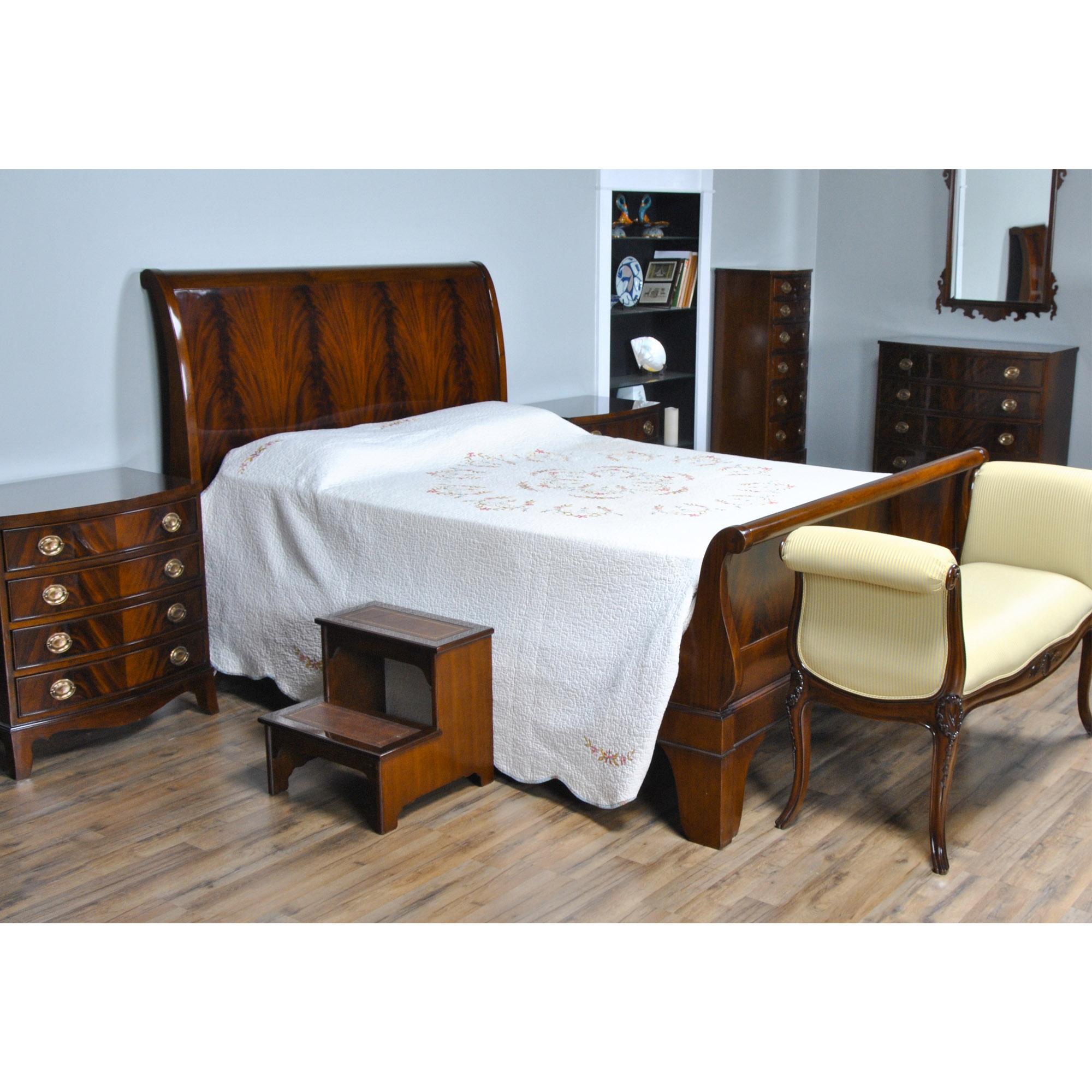 Mahogany King Size Sleigh Bed Niagara Furniture Sleigh Bed
