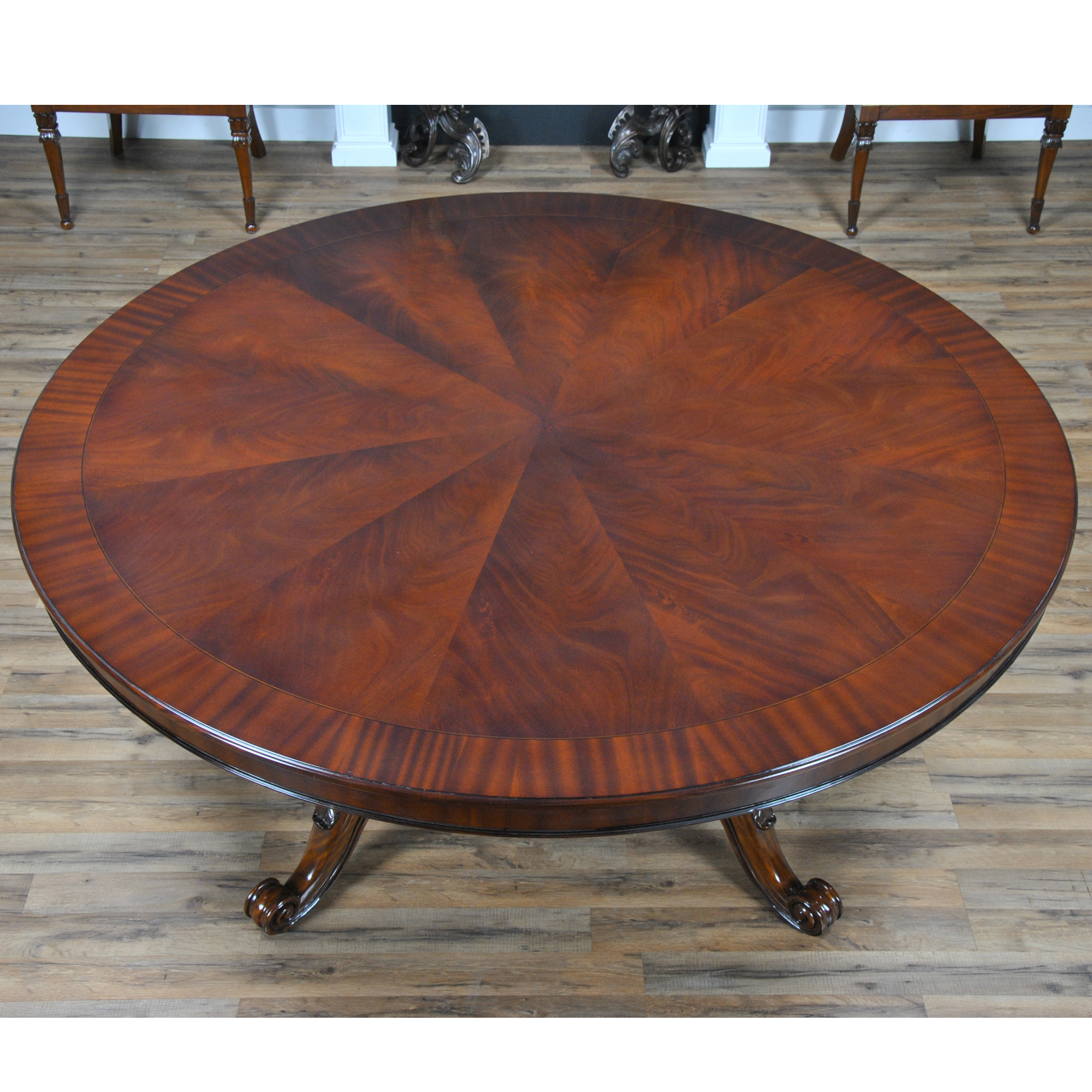 72 Inch Round Table Niagara Furniture Round Mahogany Table