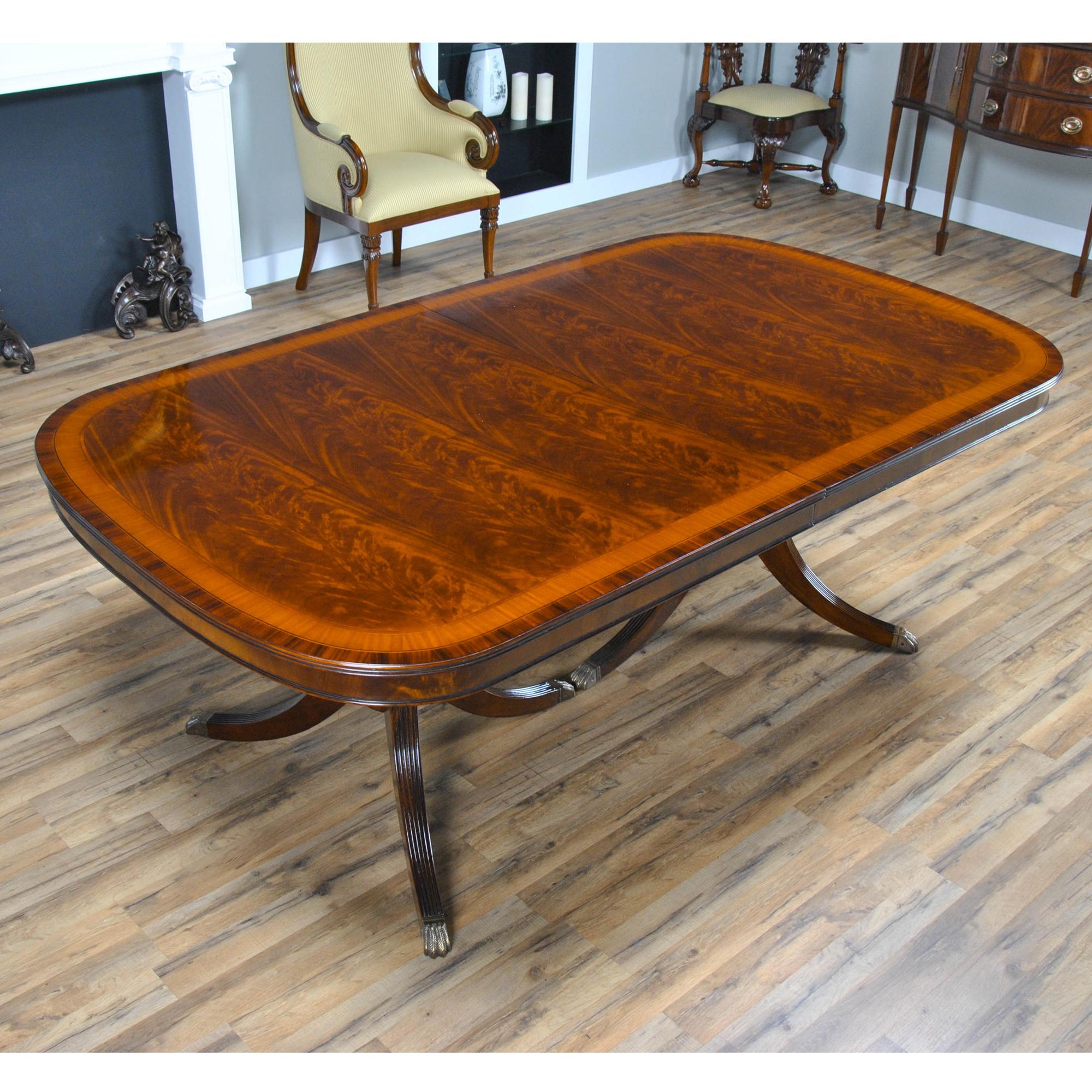 15 Foot Mahogany Dining Table Ndrt033