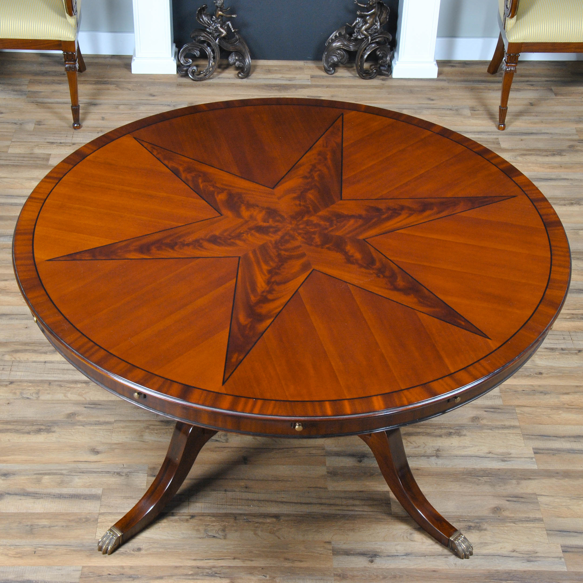 Star Perimeter Dining Table Niagara Furniture Round