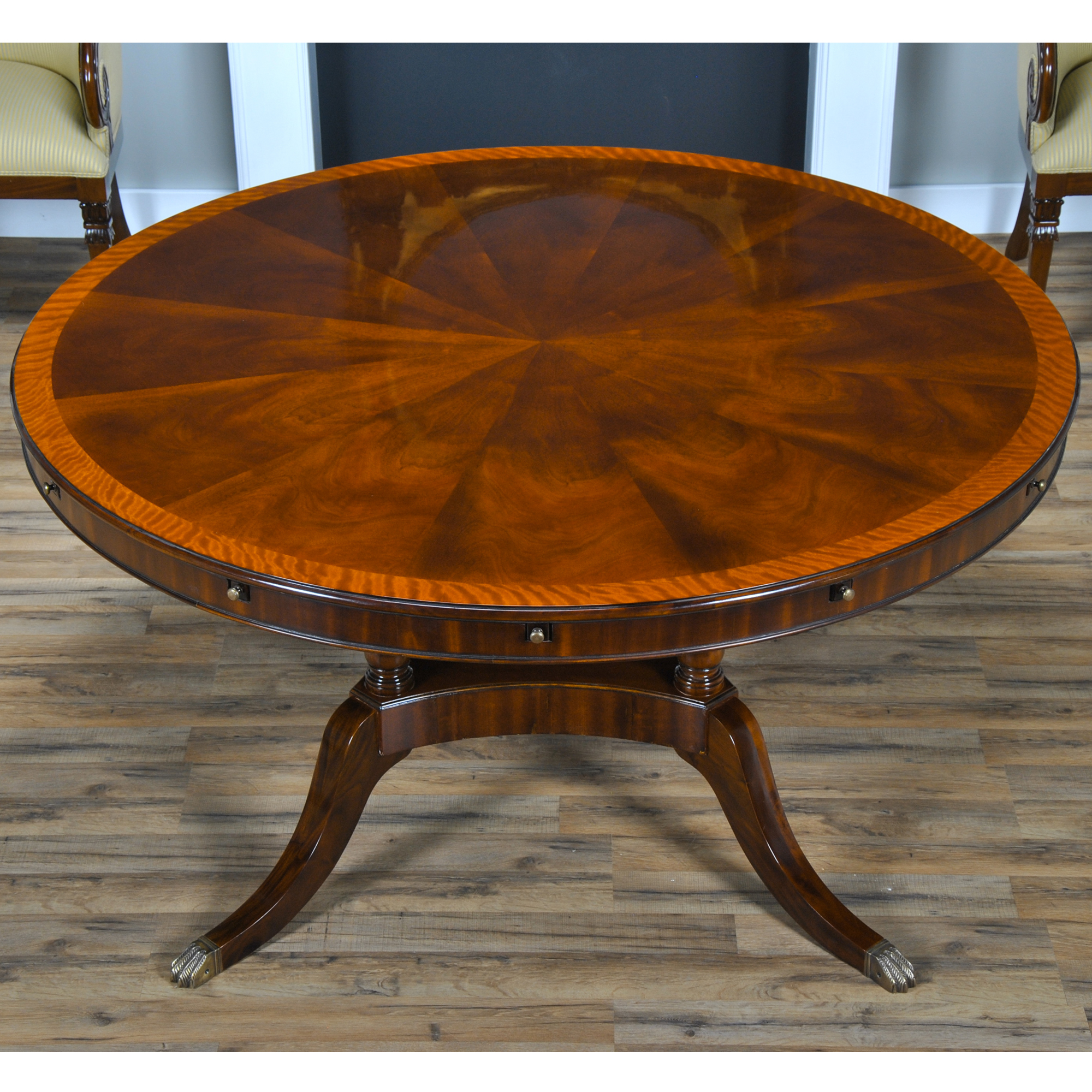 84 Inch Round Perimeter Table Niagara Furniture Round