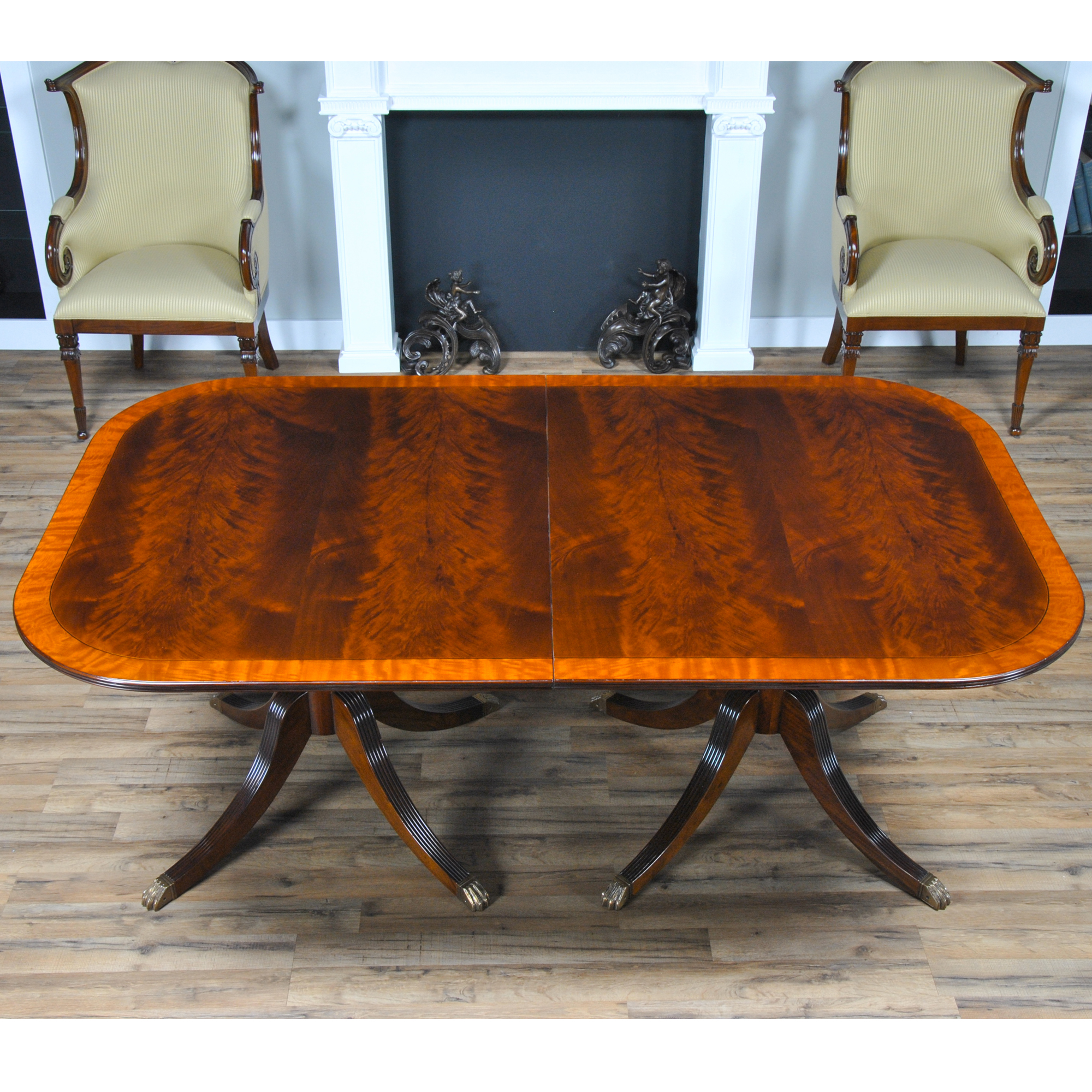 Classic Mahogany Dining Table NDRT057