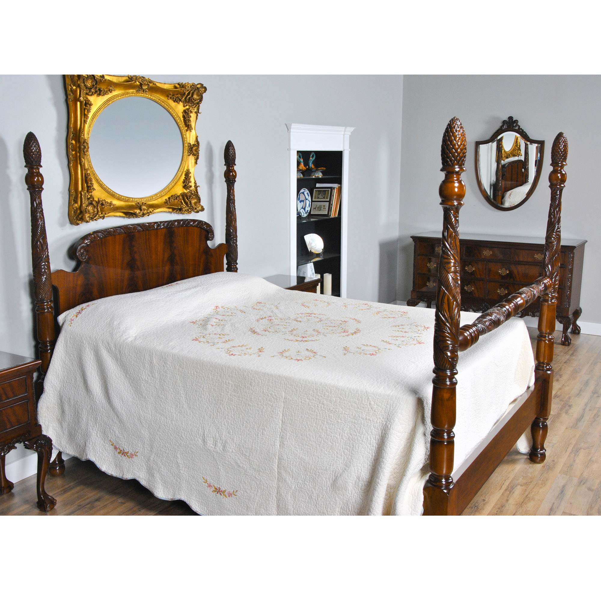 Mahogany Queen Size Poster Bed Niagara Furniture Poster Bed