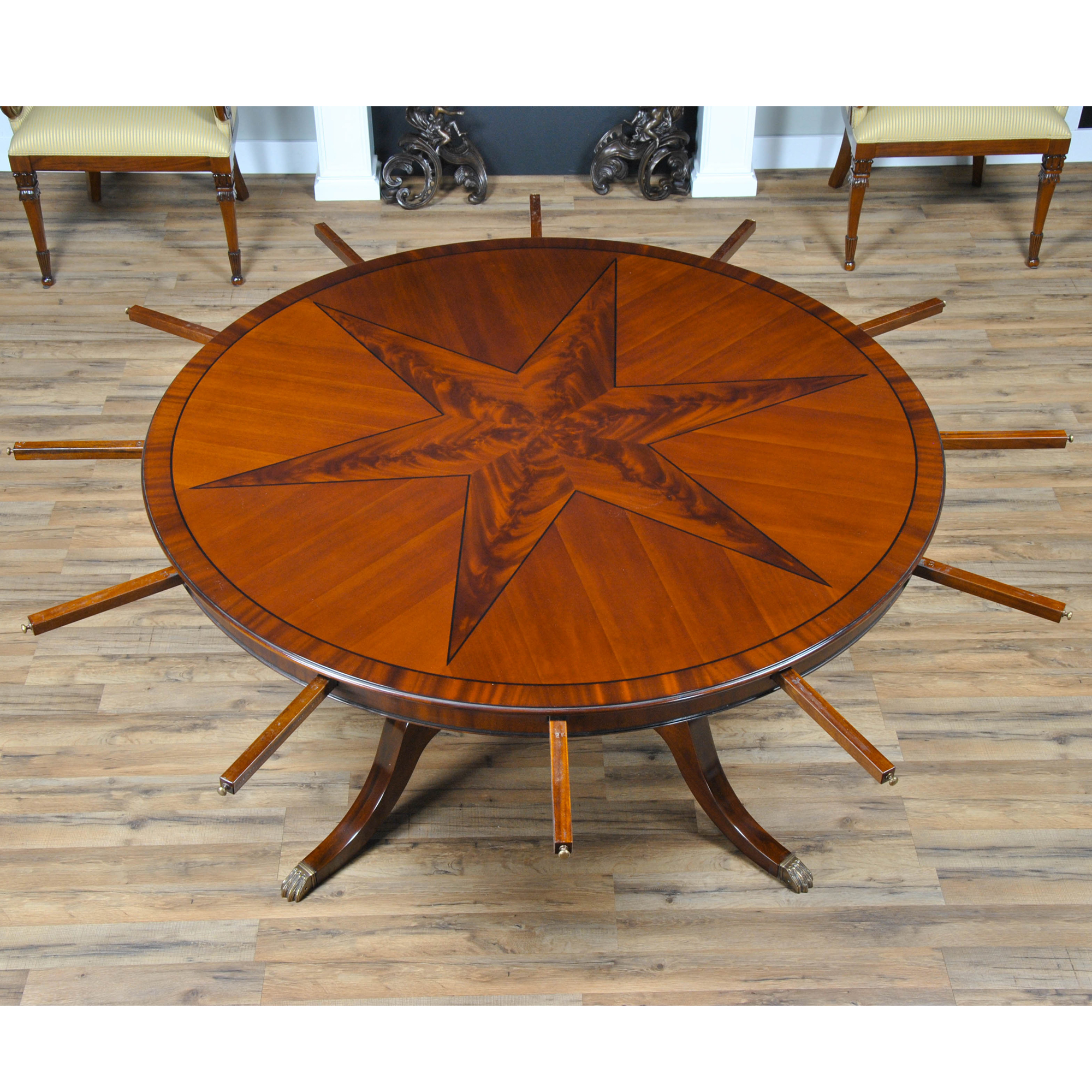 Star Perimeter Dining Table NDRT046