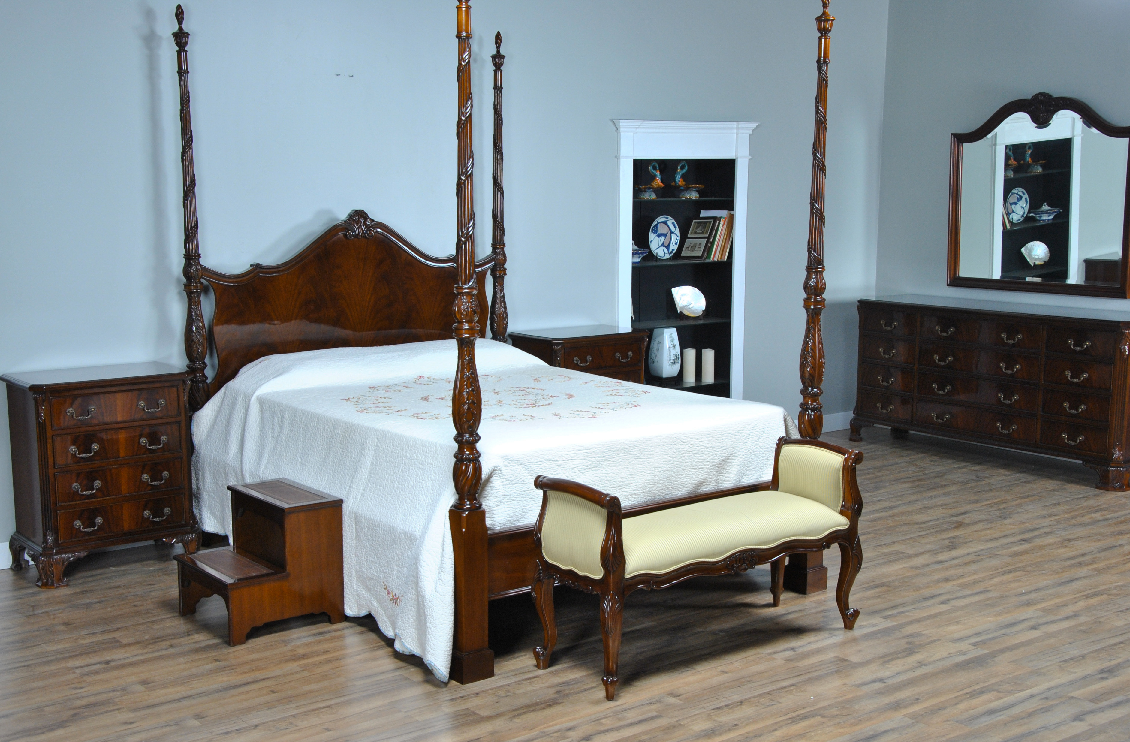 Leather Bed Steps High Quality Bedroom Furniture Niagara Furniture