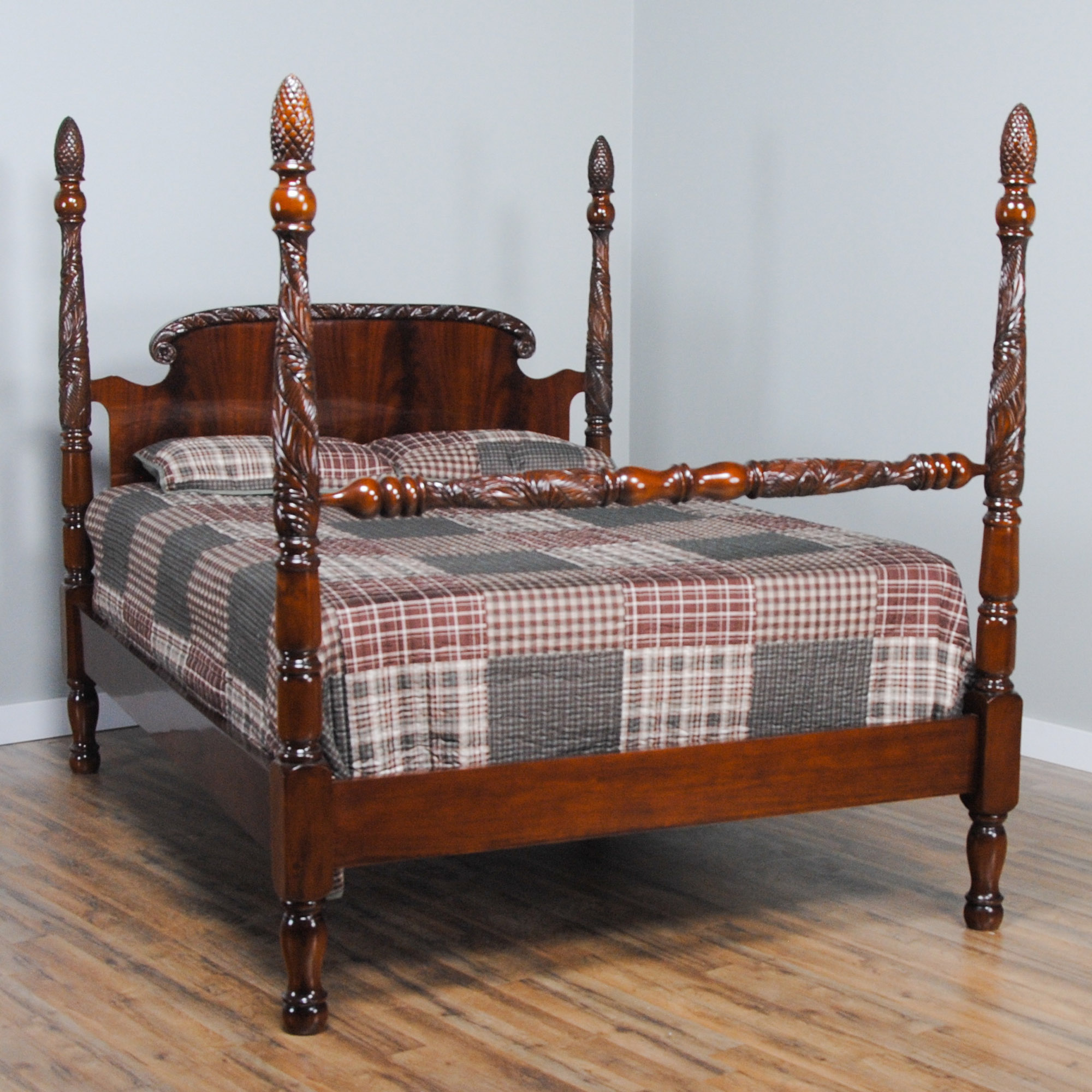 King Size Mahogany Poster Bed Niagara Furniture Mahogany Bed