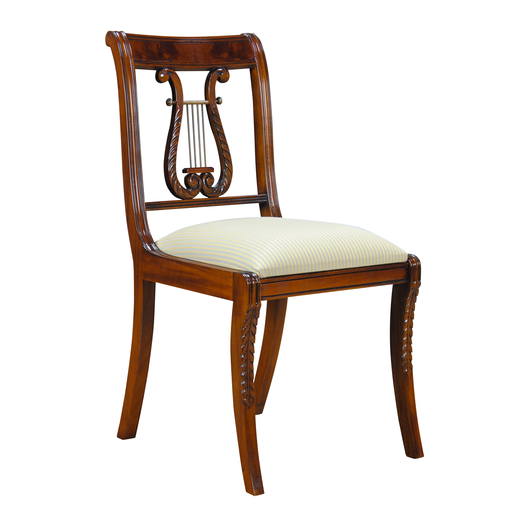 Lyre side chair harp back chair niagara furniture free for Furniture 0ne