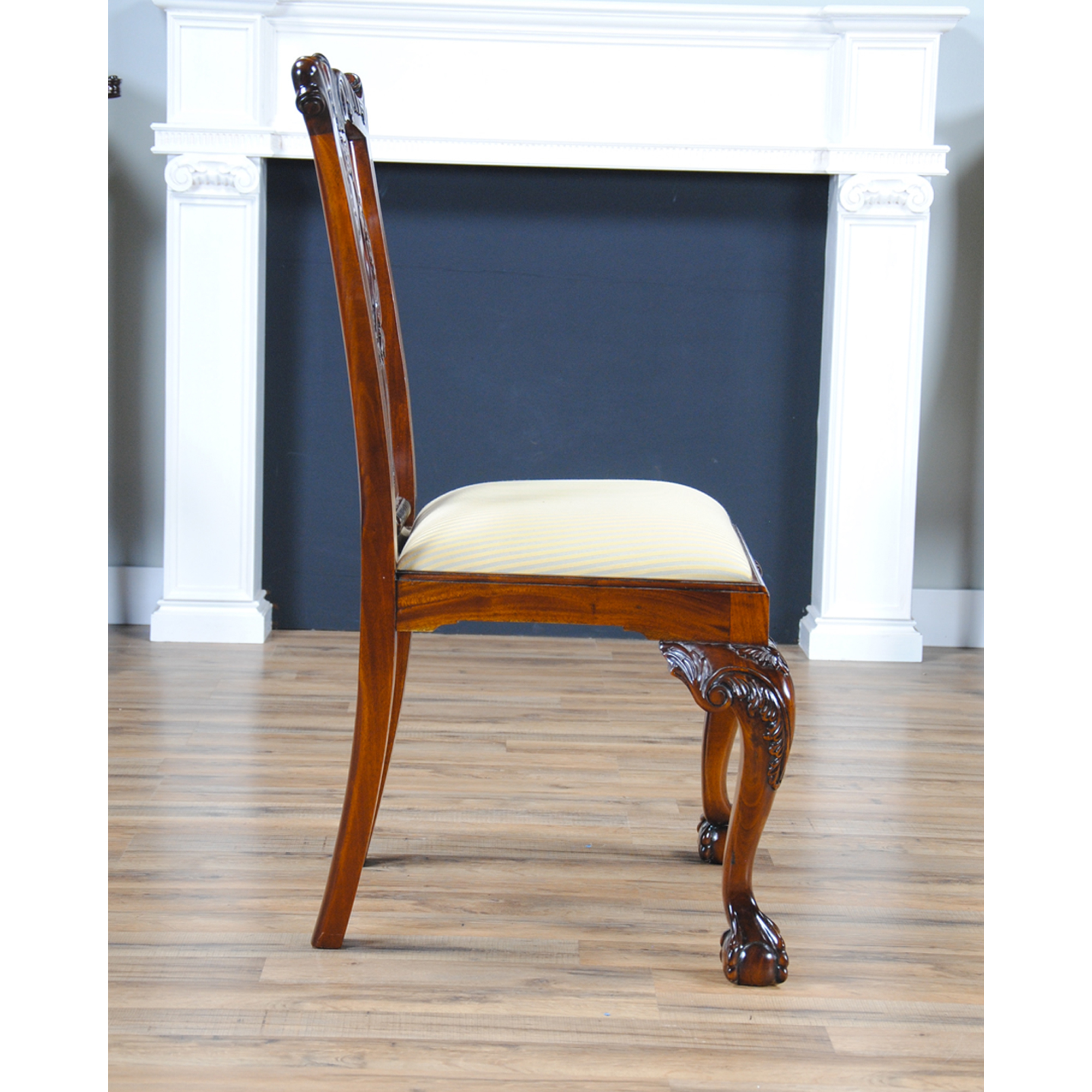 Philadelphia Chippendale Side Chair Niagara Furniture Solid Mahogany