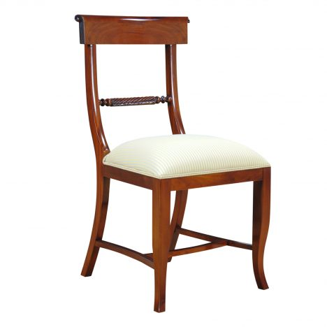 Twist Back Side Chair :: NDRSC028