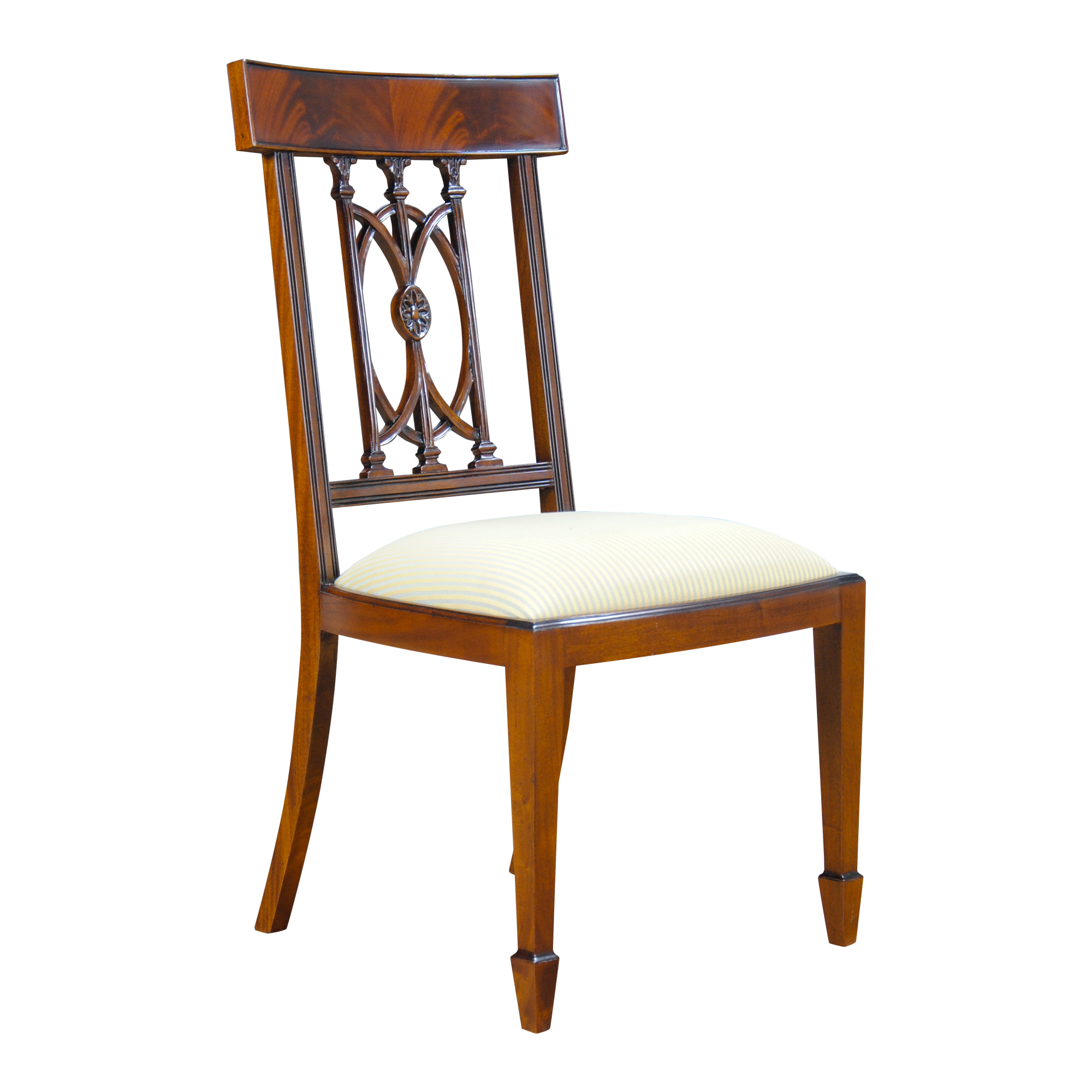 Furniture With Free Shipping: Mahogany Hepplewhite Side Chair, Niagara Furniture, Free