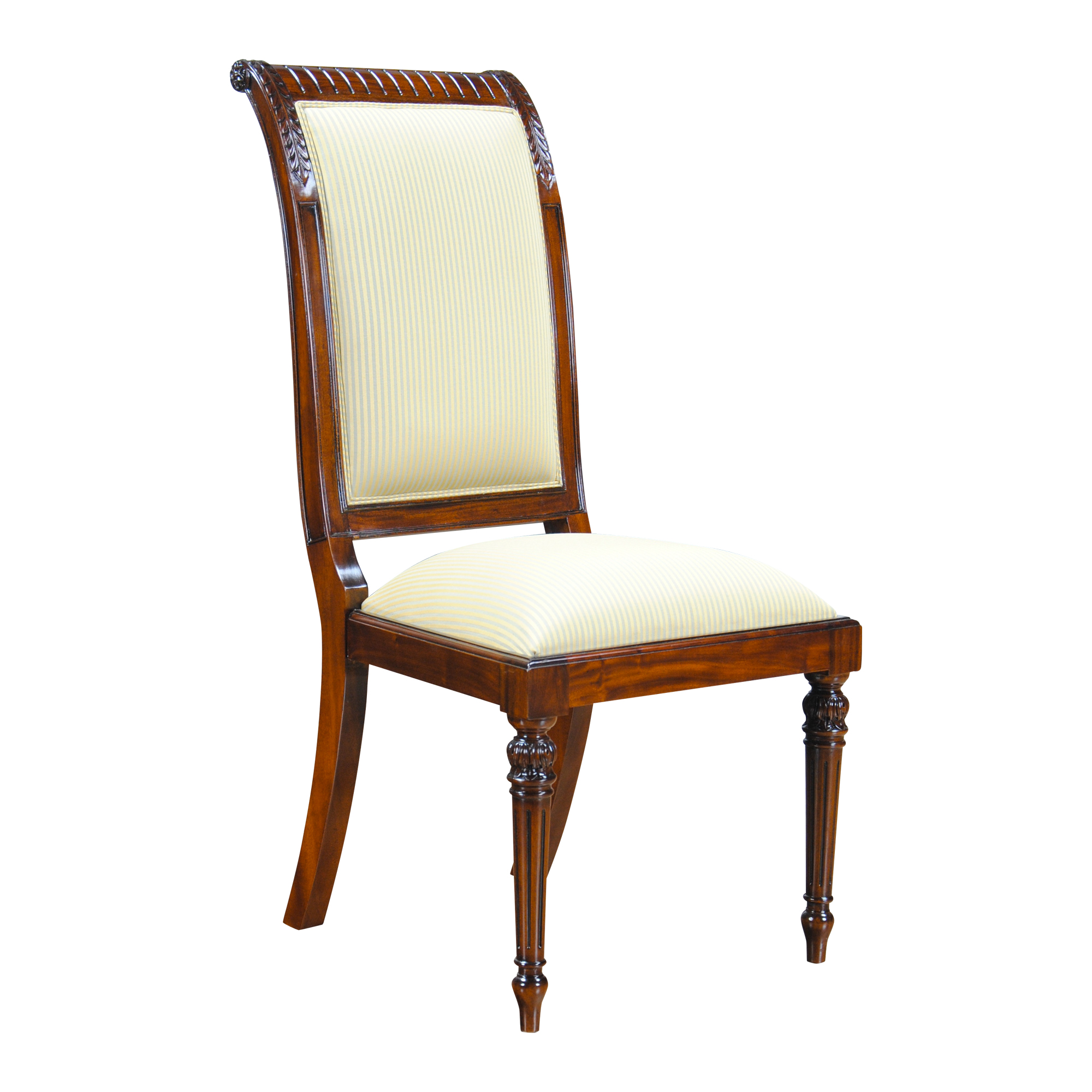 Tall Back Upholstered Side Chair Ndrsc055