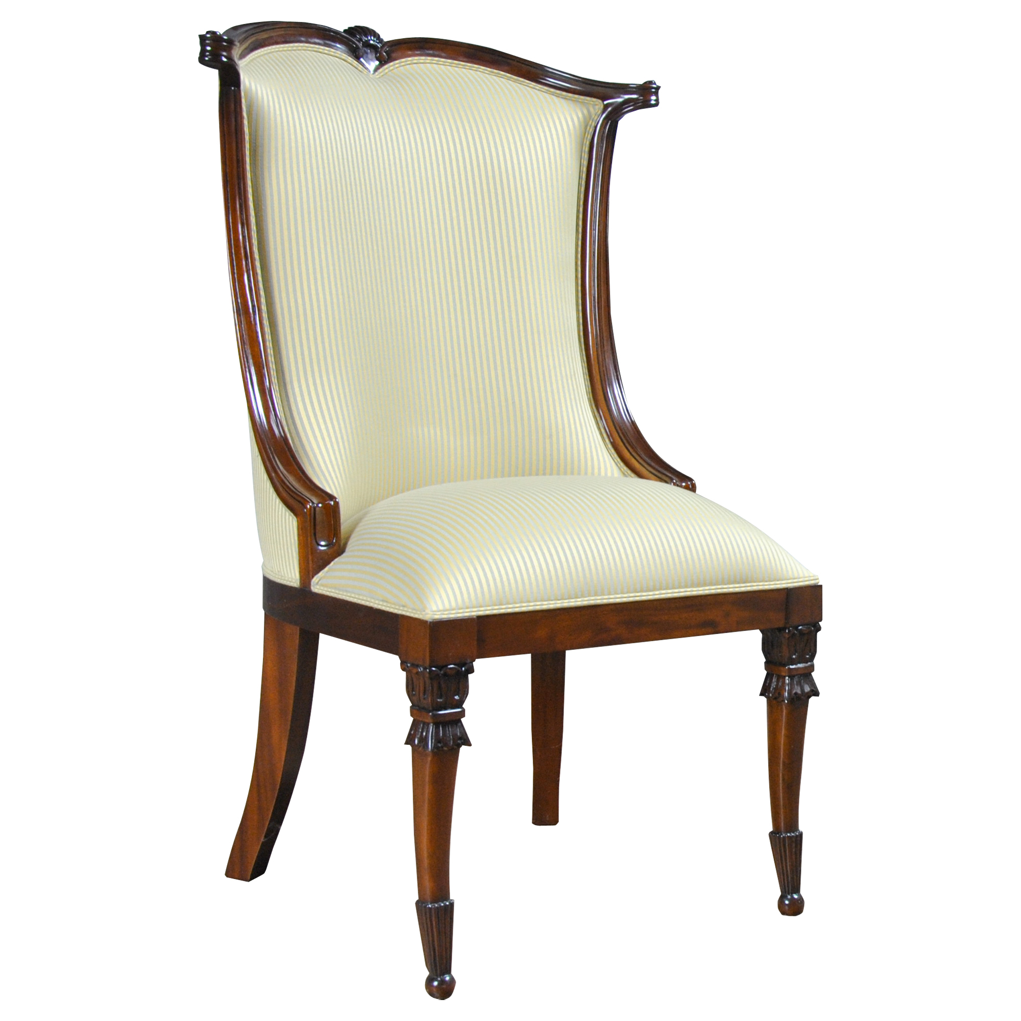 American Upholstered Side Chair Niagara Furniture High End