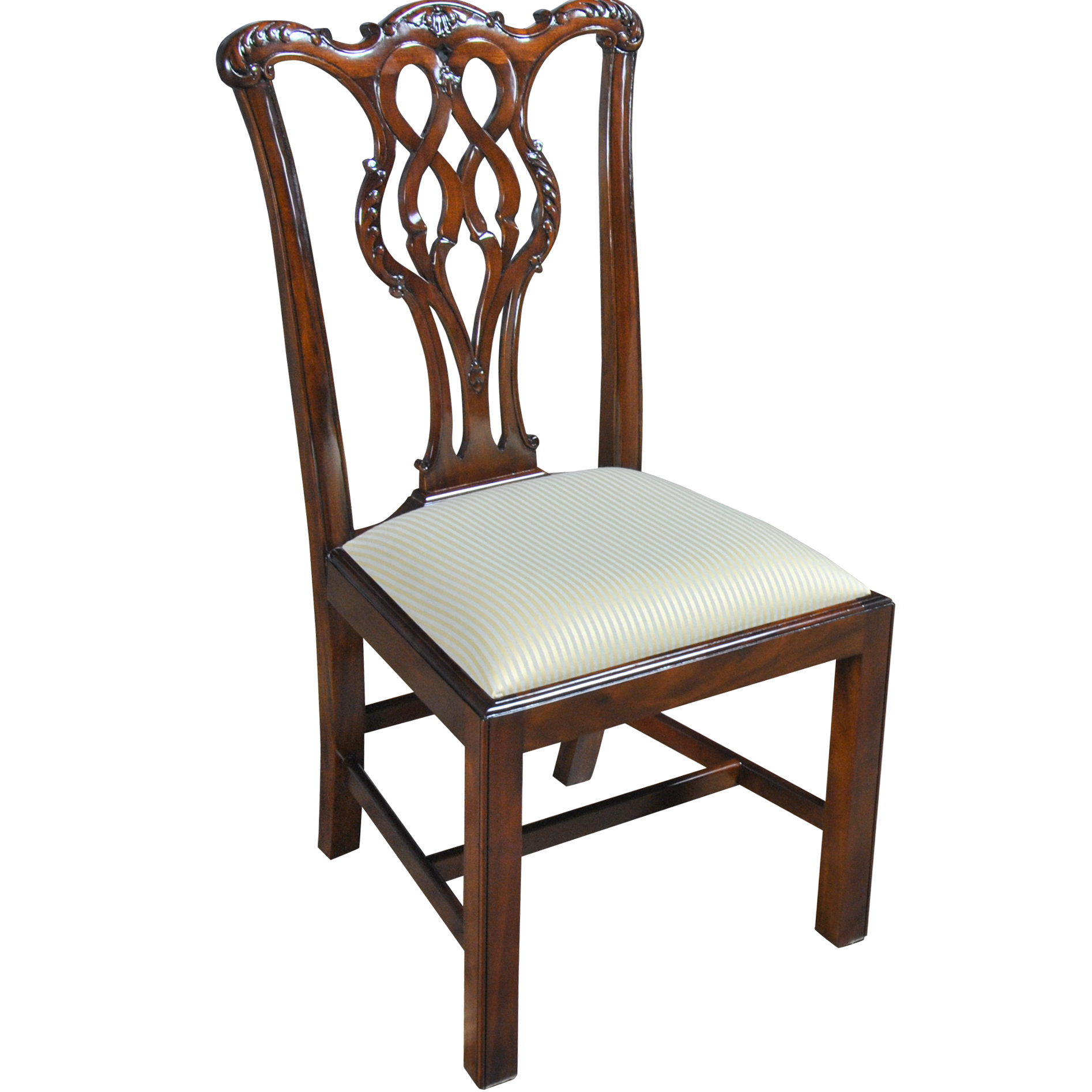 Home furniture dining room chairs straight leg for Side chairs for sale