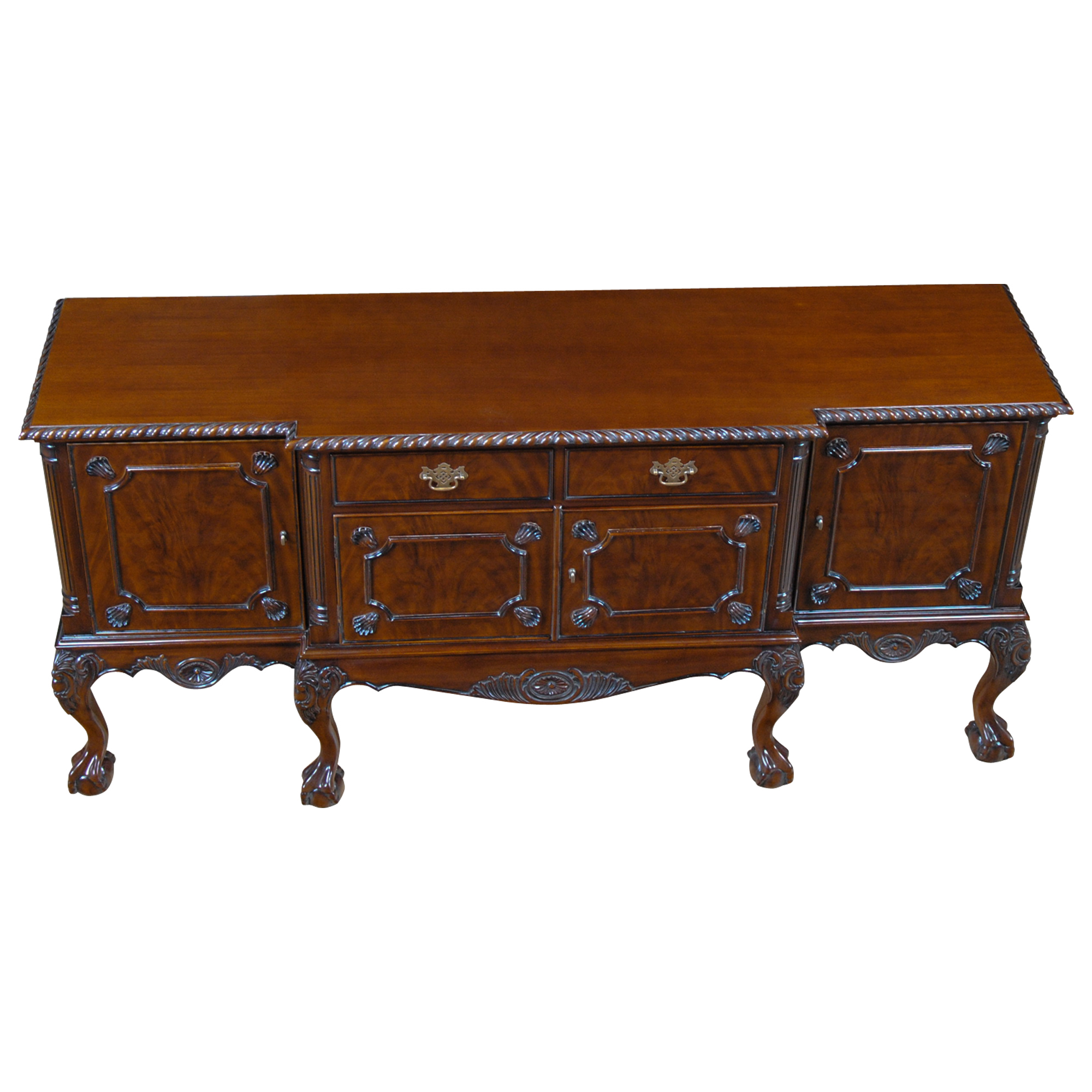 Mahogany Buffet Ball And Claw Mahogany Sideboard Niagara Furniture