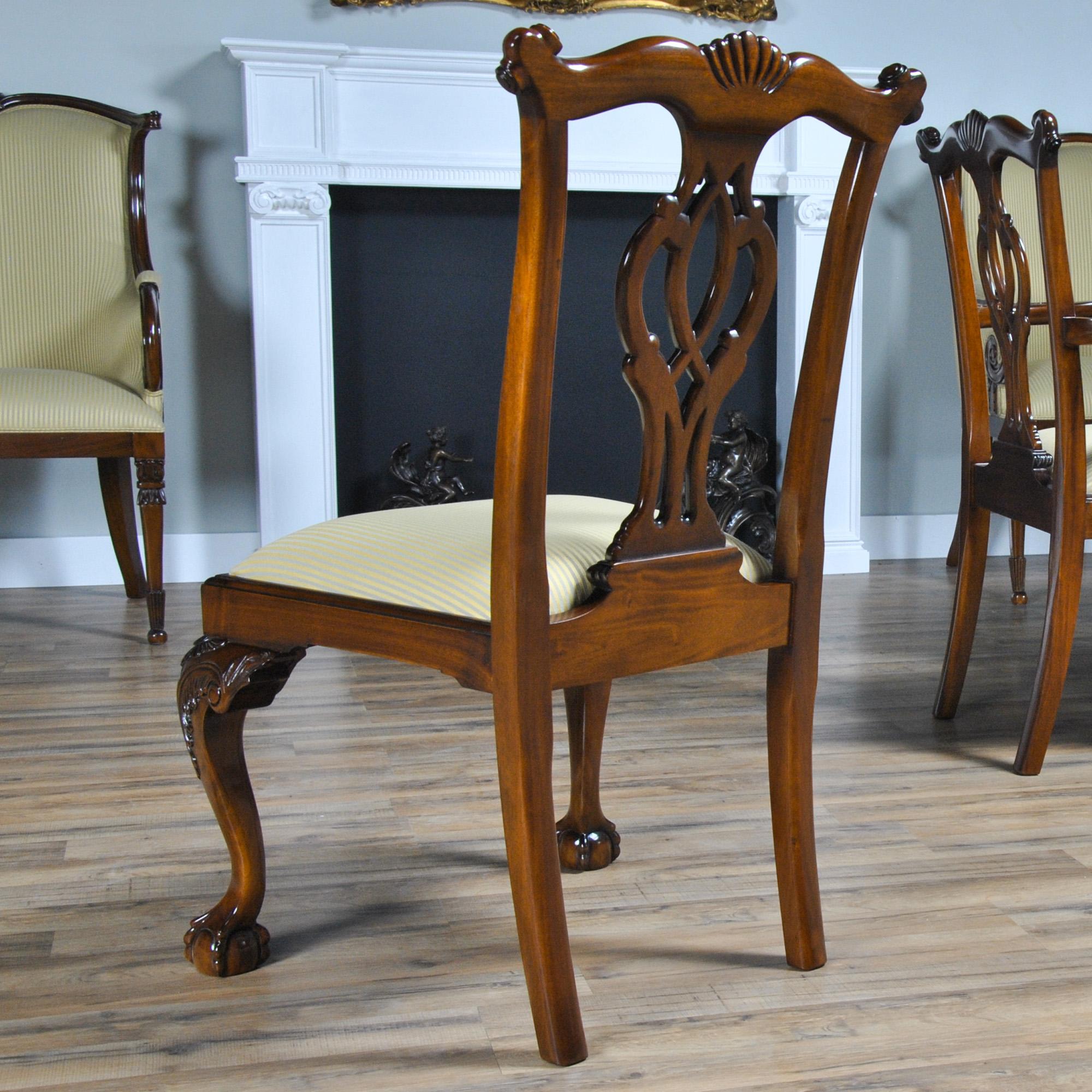 Philadelphia Chippendale Side Chair :: NDRSC013