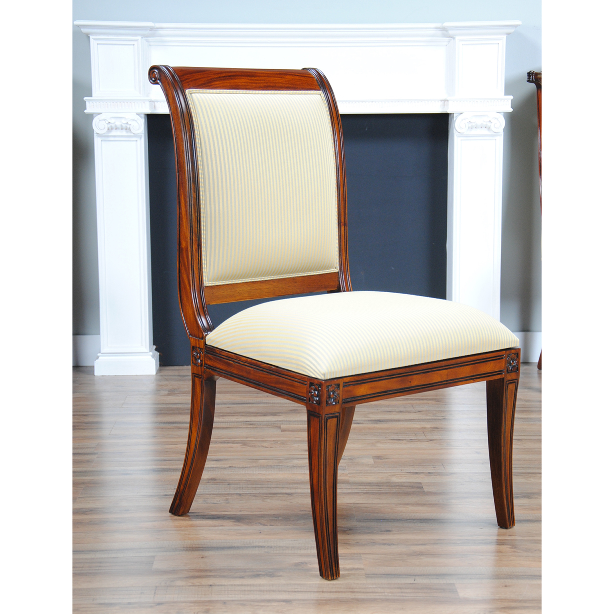 Regency Upholstered Side Chair Niagara Furniture Free Shipping