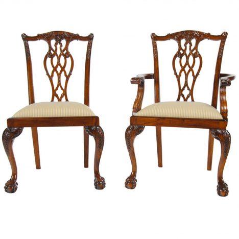 Devon Style Chairs, Set Of 10 :: NDRAC007Z