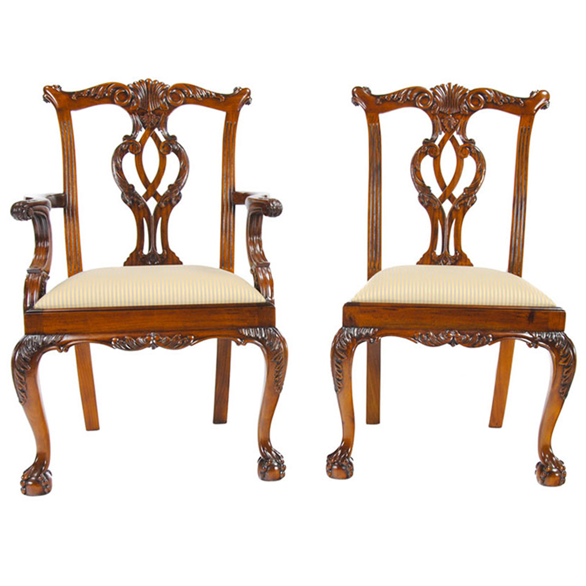 Cambridge Mahogany Chairs Set Of 10 Niagara Furniture