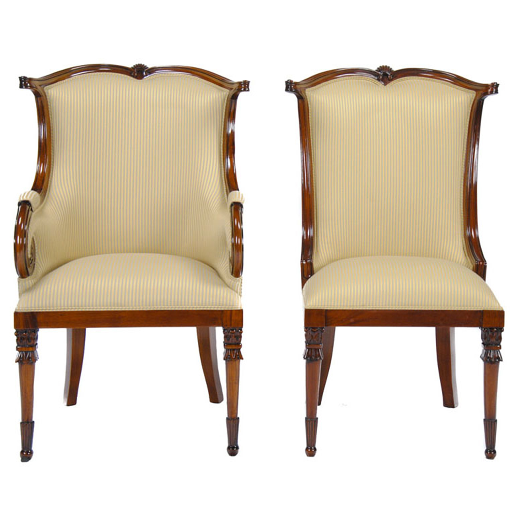 American upholstered dining chairs set of niagara