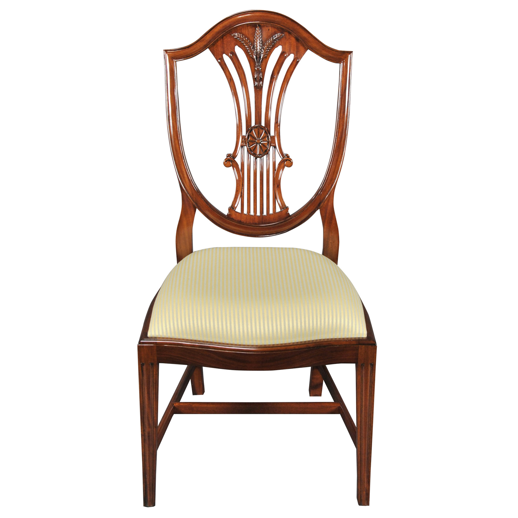 Shield back dining side chair niagara furniture solid for Chair chair chair
