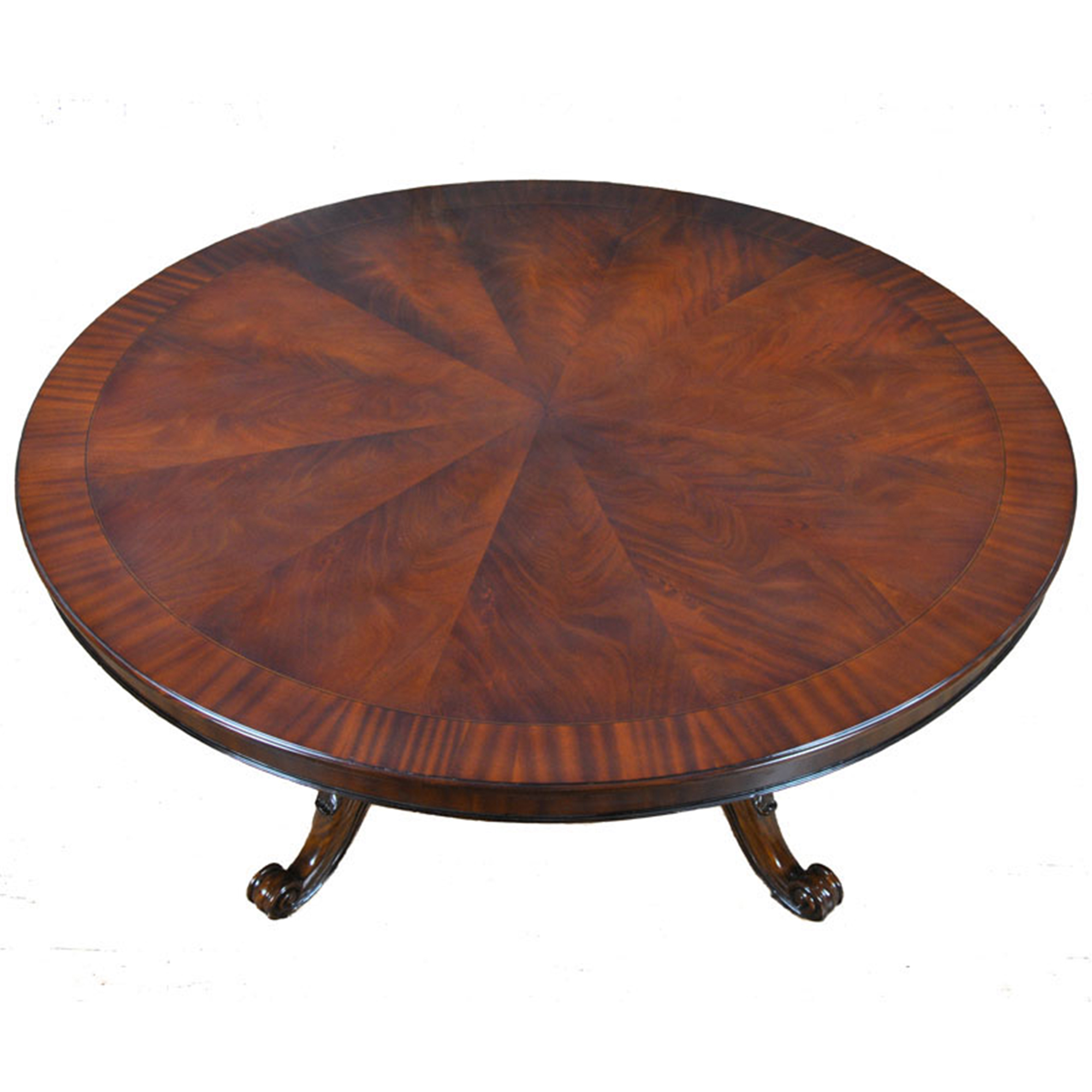 72 inch Round Table Niagara Furniture round mahogany table : NDRT040 1 from niagarafurniture.com size 2000 x 2000 jpeg 870kB