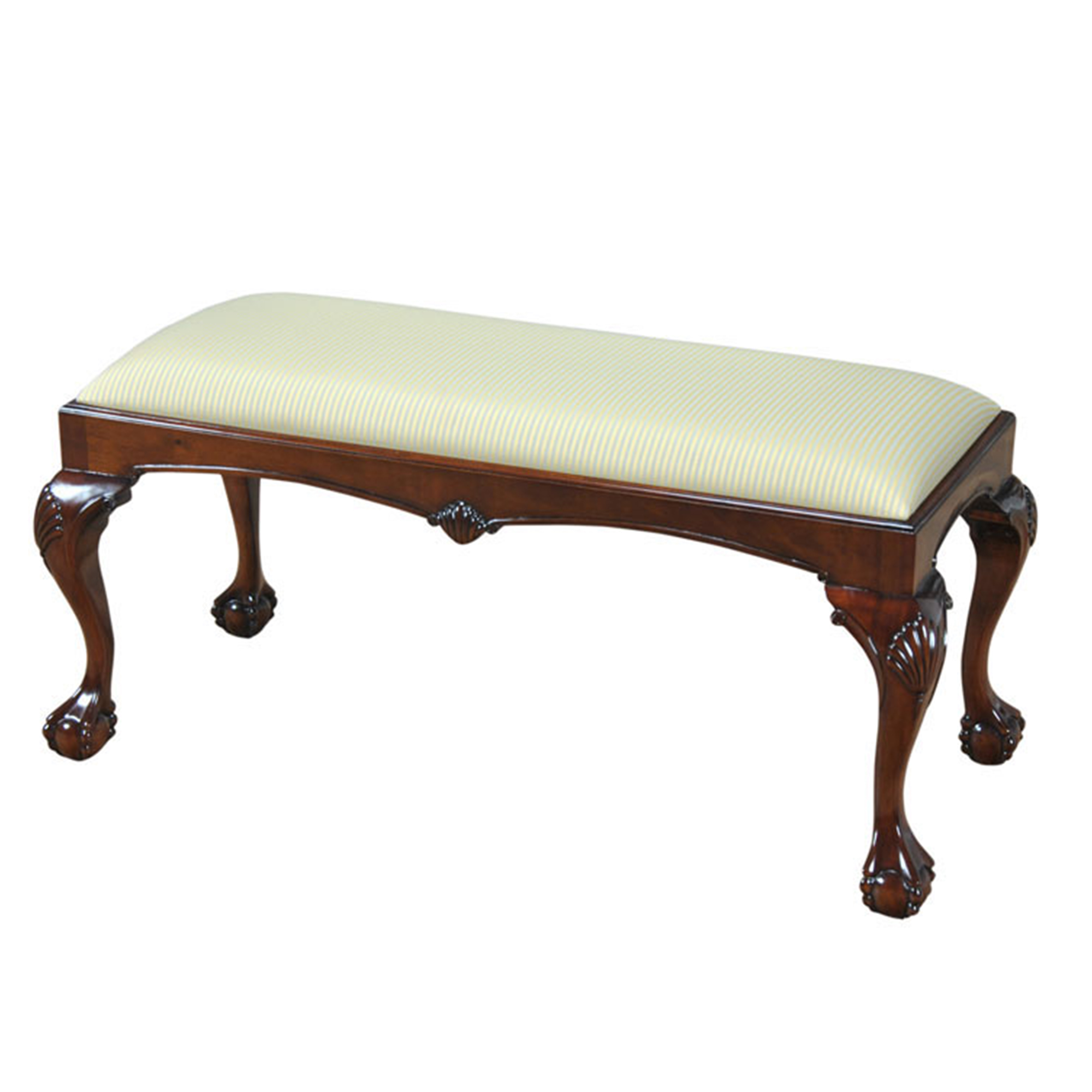 Large Chippendale Bench Niagara Furniture Solid Mahogany