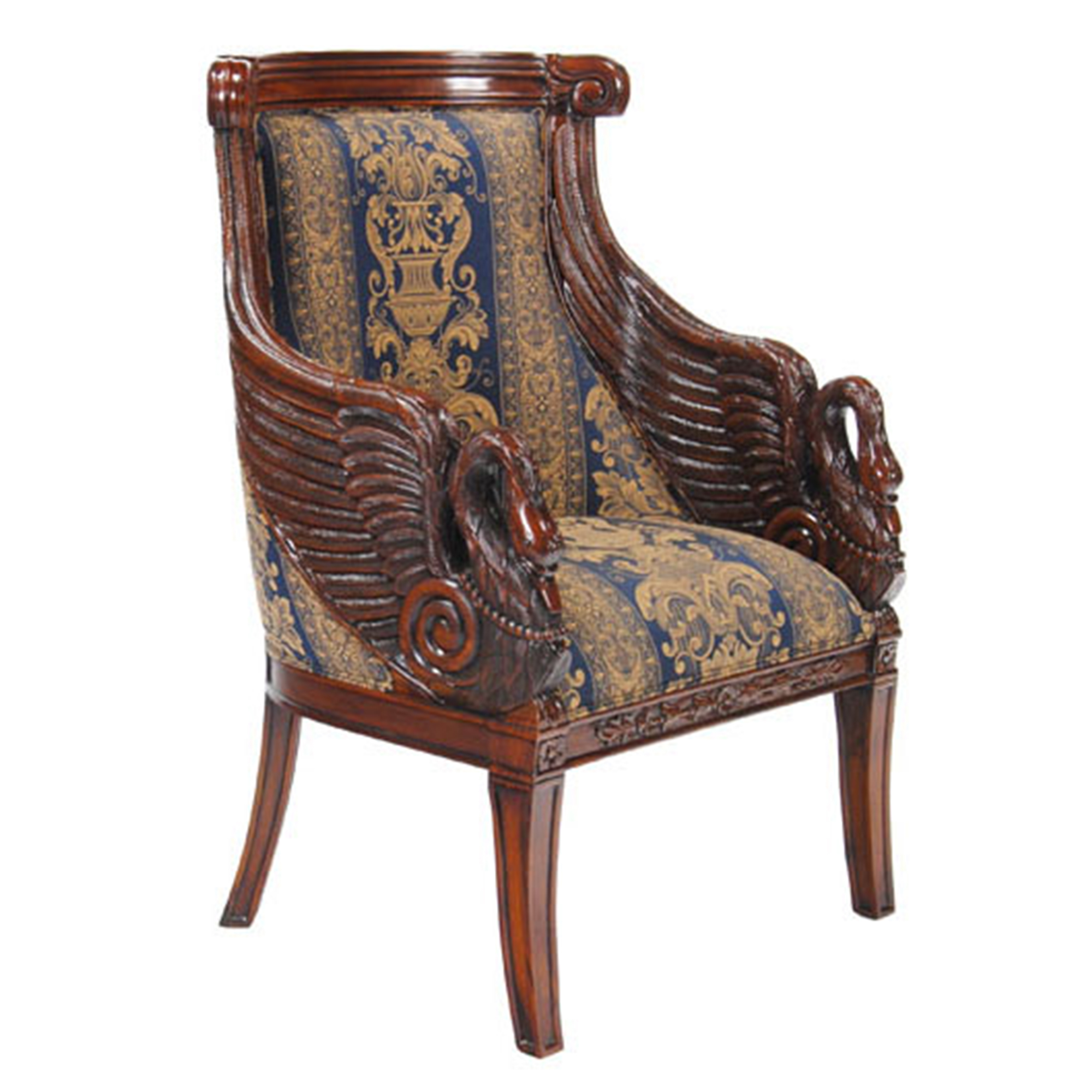 Gany Swan Arm Chair Nlr057