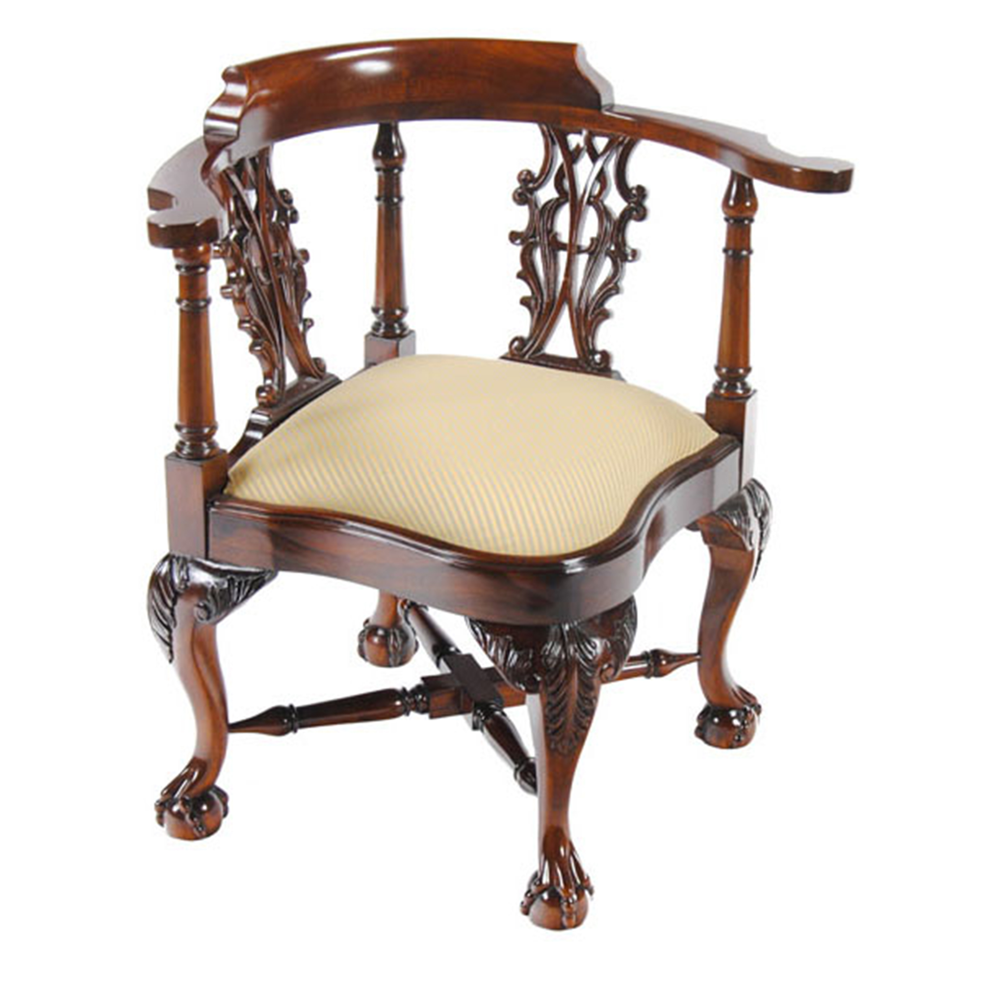 Charming Large Corner Chair :: NLR076