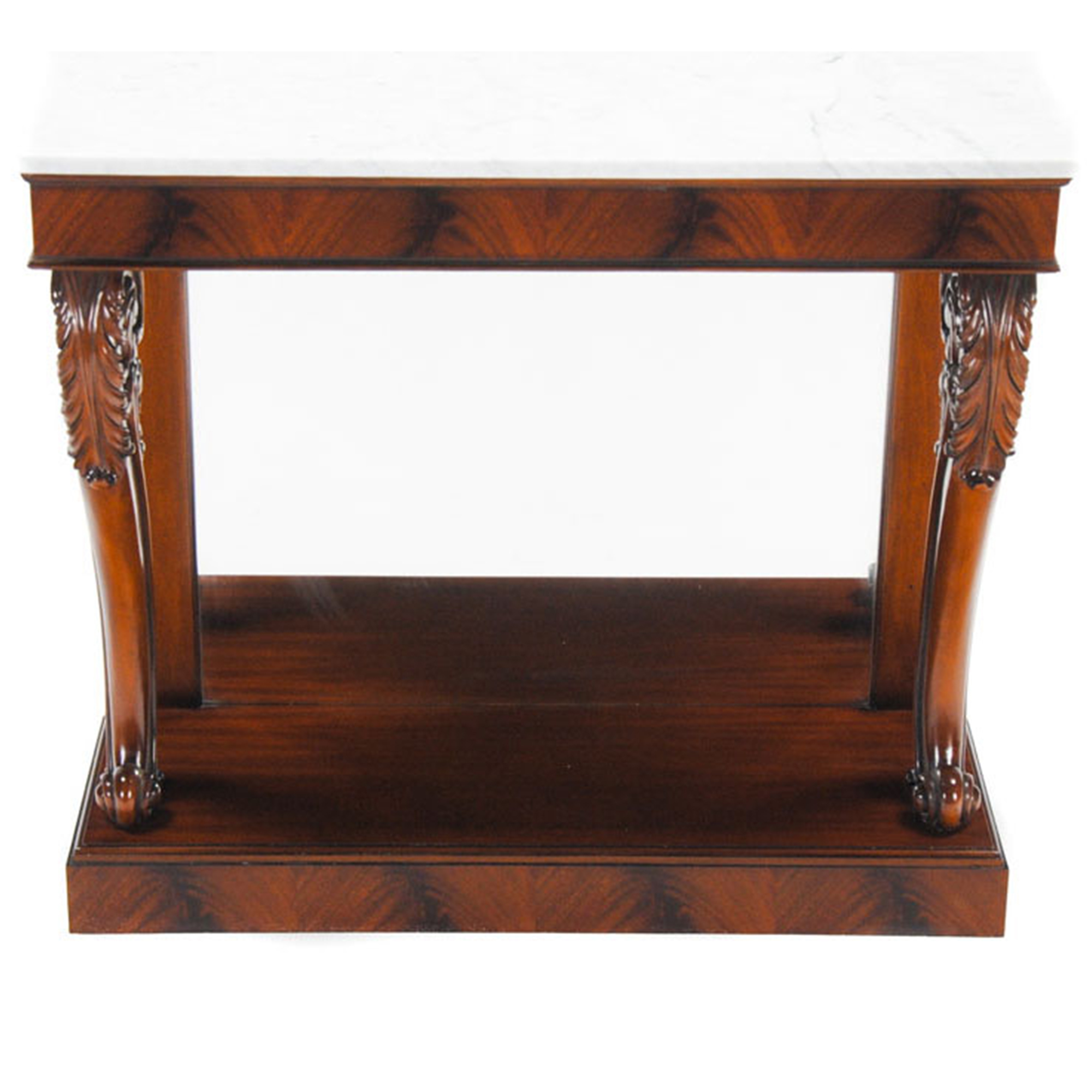 Mahogany marble top console niagara furniture console mirror - Marble tops for furniture ...