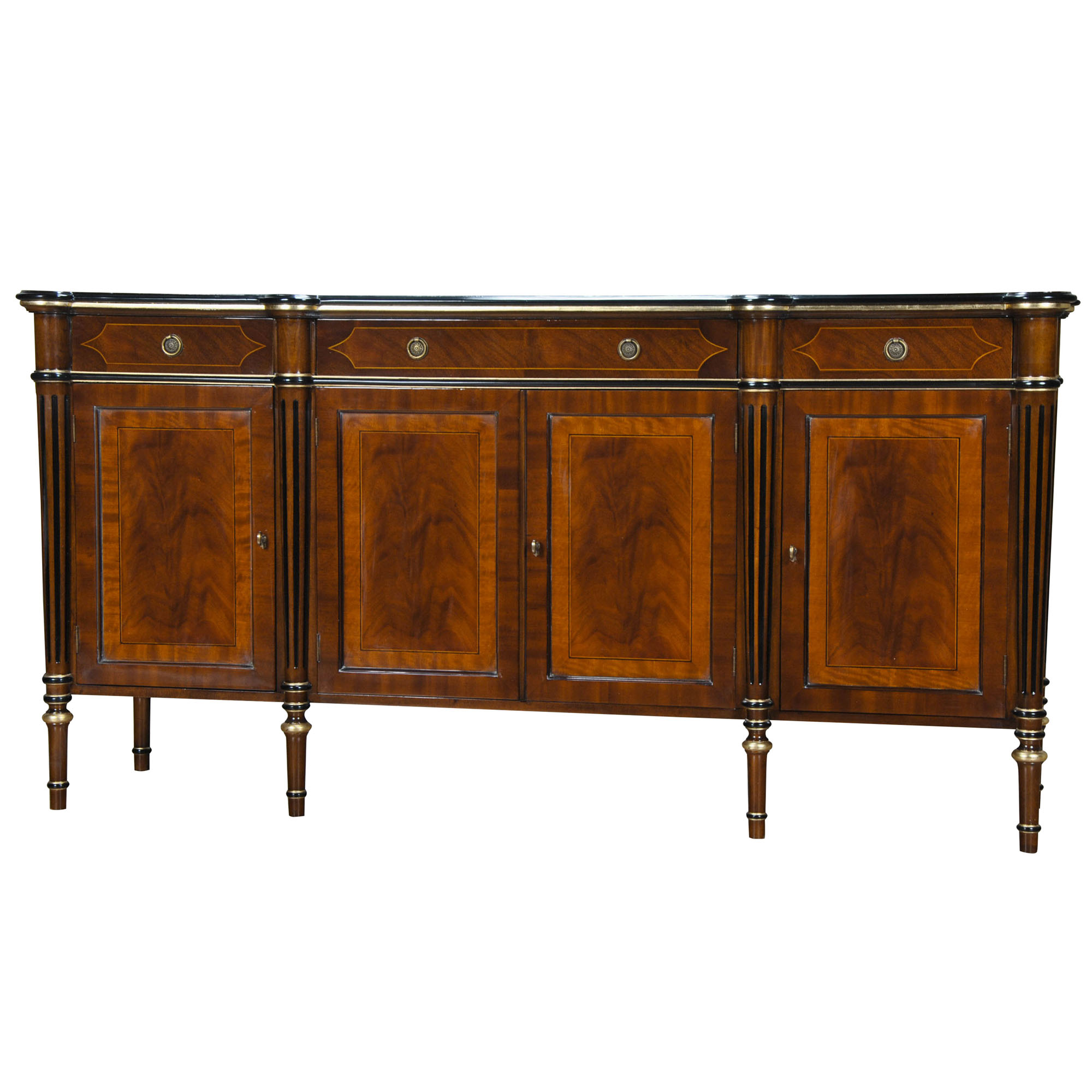 Regency Banded Mahogany Sideboard Niagara Furniture Regency Sideboard