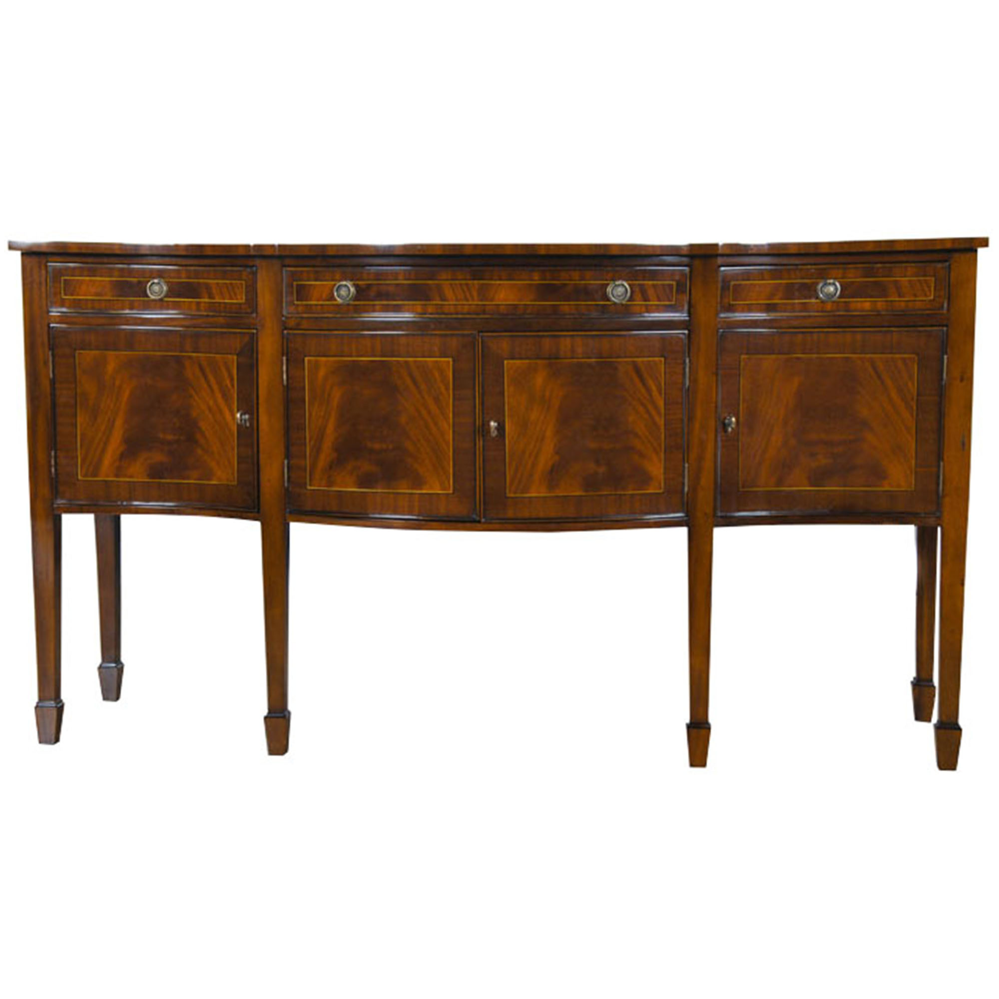 Home furniture dining room sideboards large for Mahogany dining room furniture