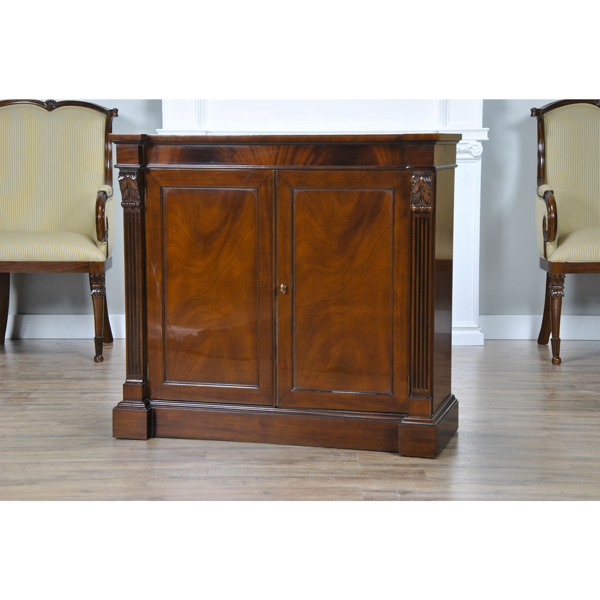 Mahogany Server Niagara Furniture Small Buffet Small
