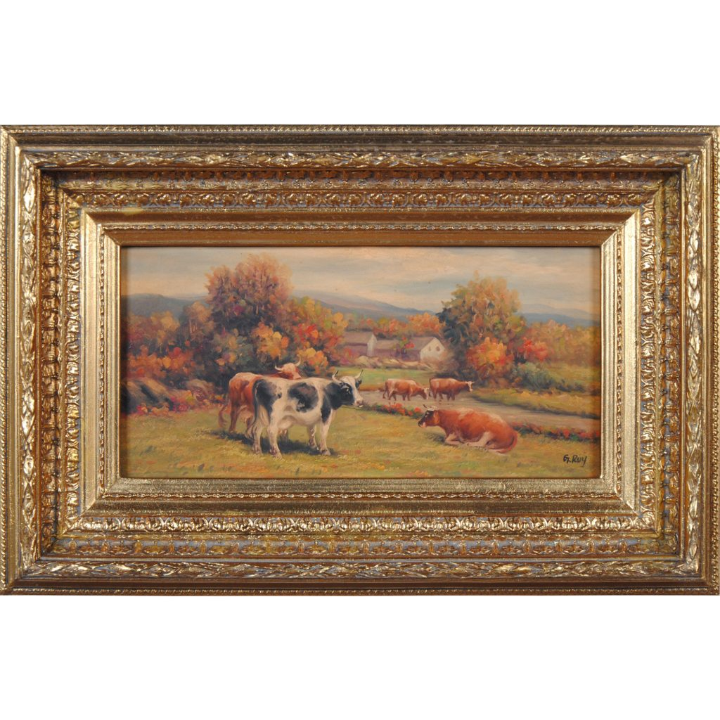 Cows In Pasture Oil Painting Oil Painting Painting With