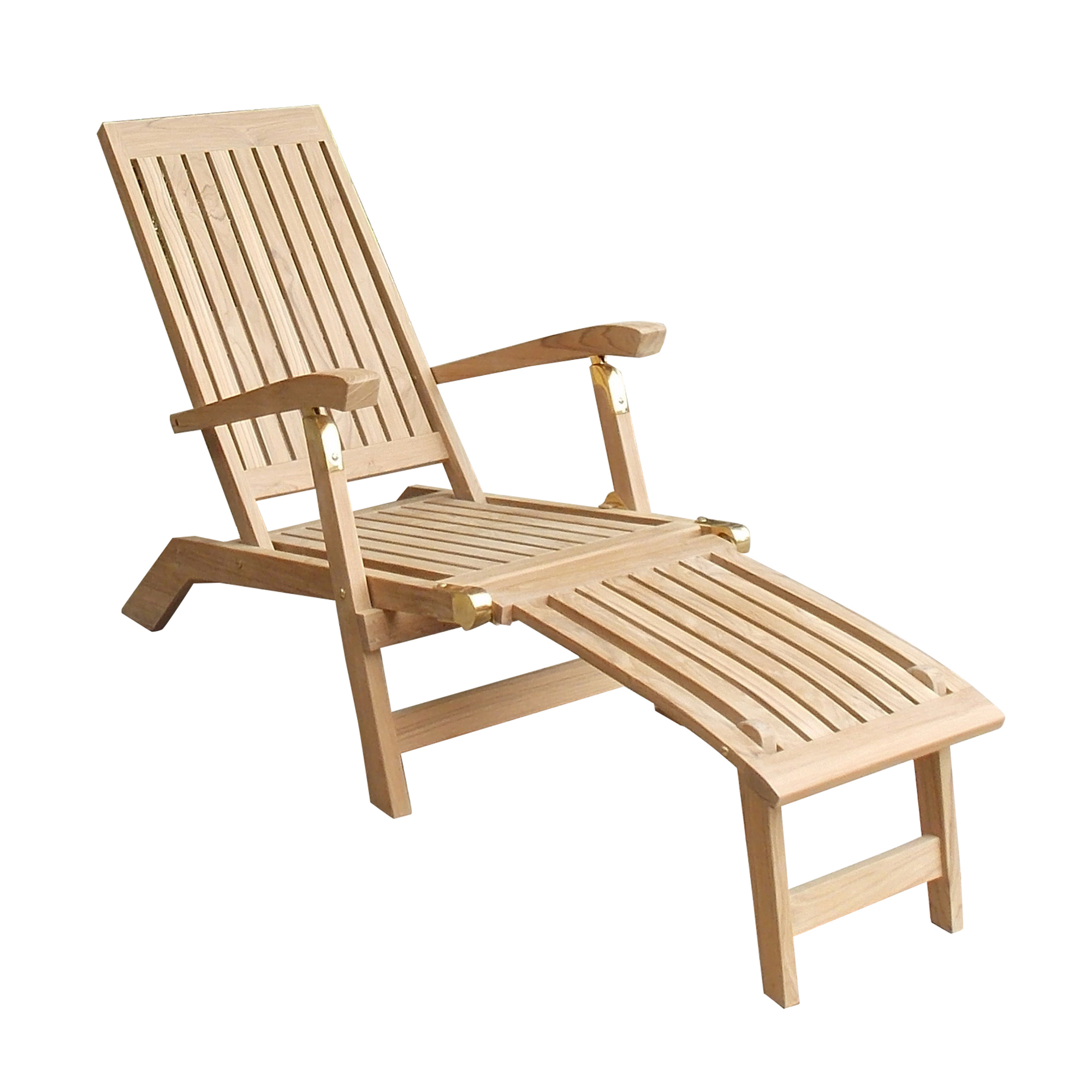 Niagara Teak Deck Chair :: NTCH10