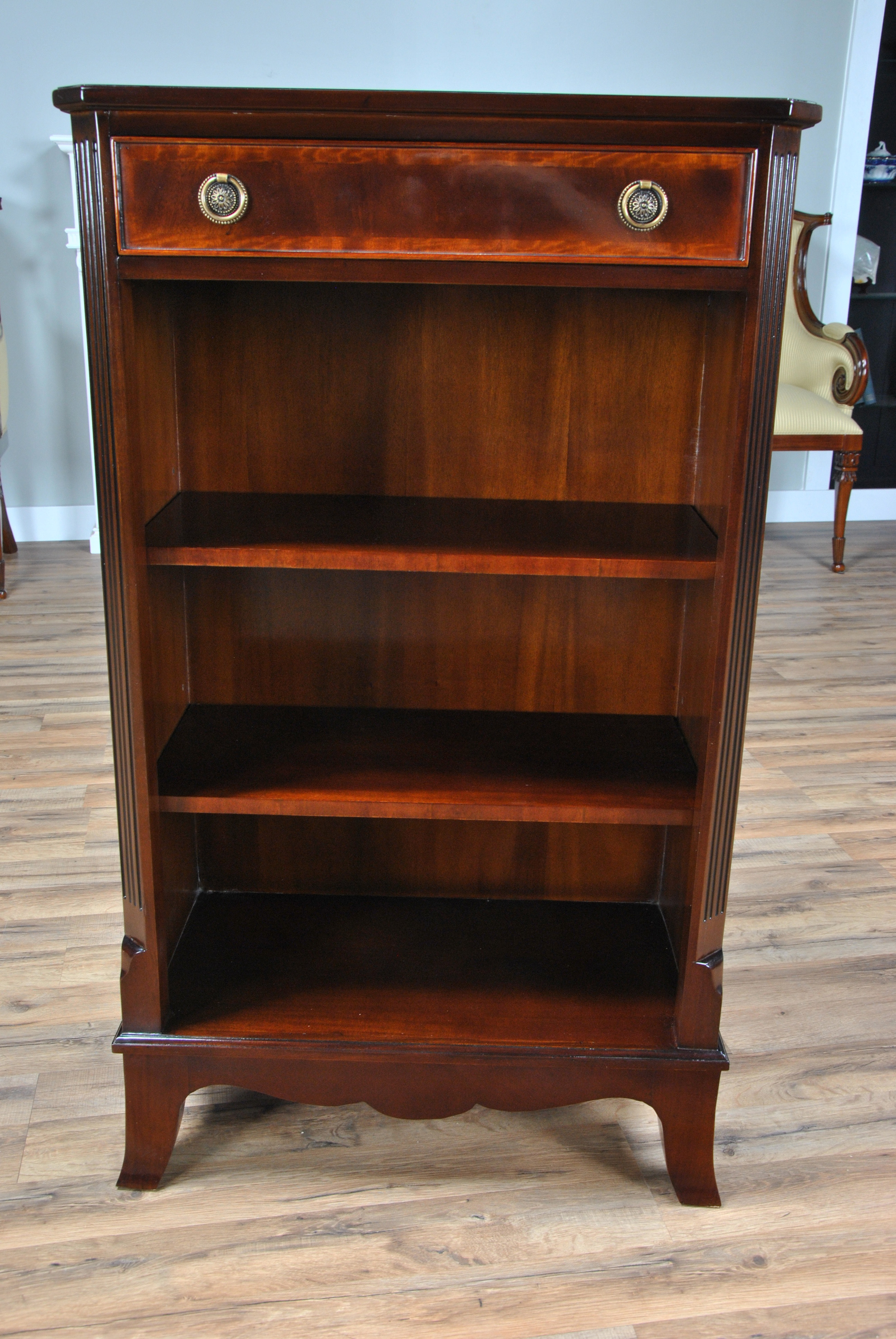 Small Bookcase, Niagara Furniture, narrow bookcase ...