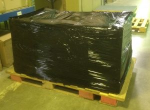Desk Wrapped for Shipment